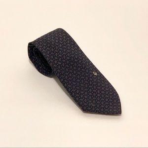Christian Dior Tie Navy